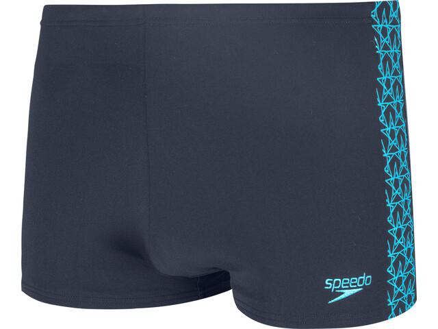 speedo Boomstar Splice Aquashorts Heren, true navy/pool